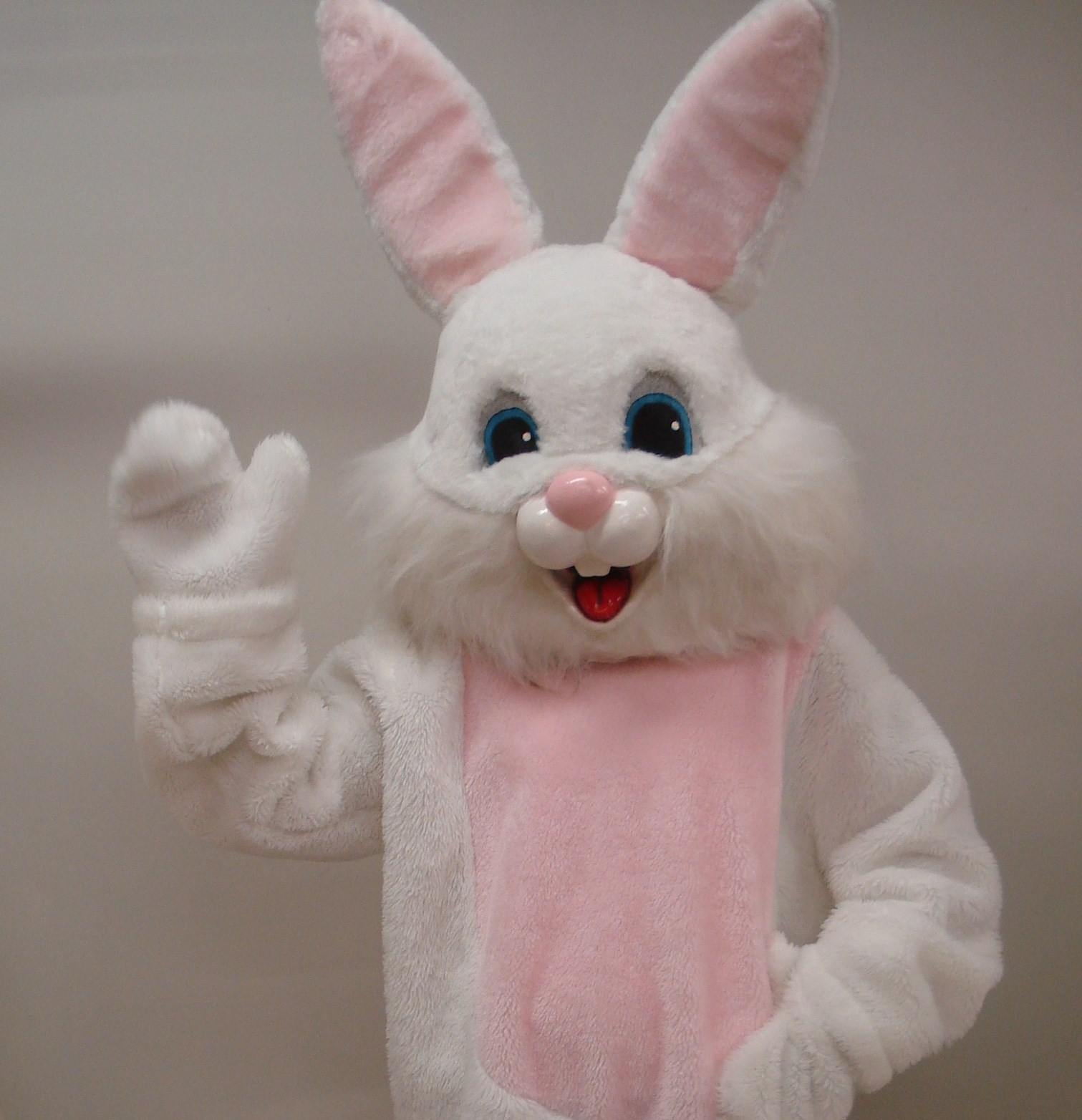 hire the funniest Easter bunny mascot