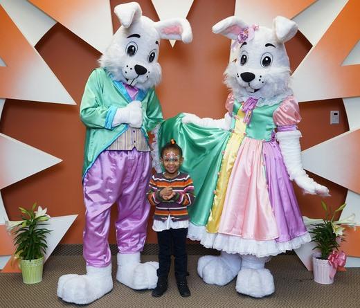 best bunny mascots in DFW