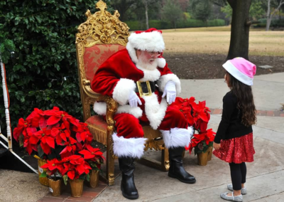 University Park Santa Claus Performer