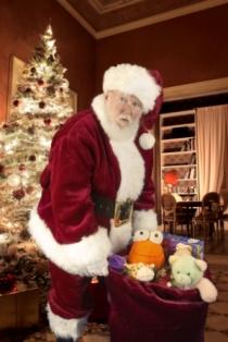 Santa Al DFW Real Beard Santa