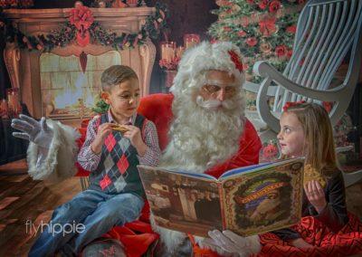 Santa Allen - Dallas naturally bearded Santa for hire