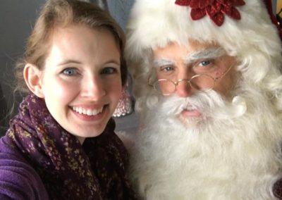 Santa Allen - Dallas Santa Claus who is great with kids