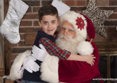 Santa Allen - Real Bearded Dallas Santa Performer