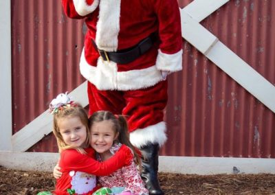 Santa Bob and kids