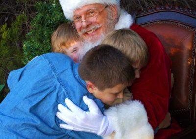 Santa David - authentic bearded Santa claus for rent