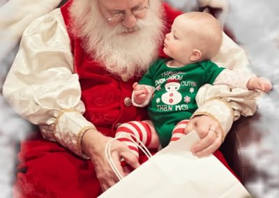 Santa Emmett - amazing DFW Santa for babies