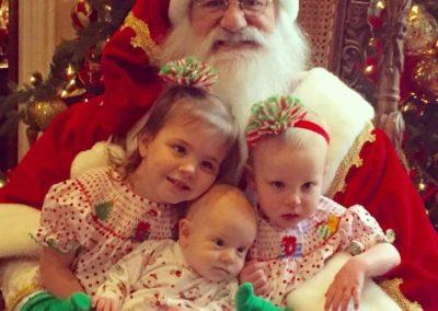 Santa Emmett - sweet Santa with kids