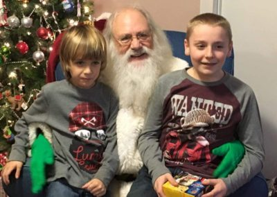 Santa Emmett - gentle Santa who loves kids