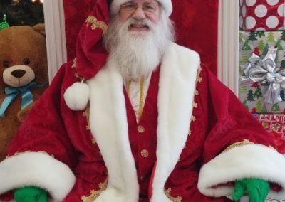 Santa Emmett - Real Bearded Santa in Dallas