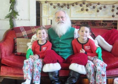 Santa Emmett - Real Bearded Santa in Dallas for hire