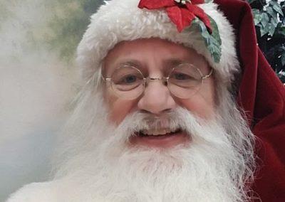 Santa Emmett - Real Bearded Santa in Dallas for rent