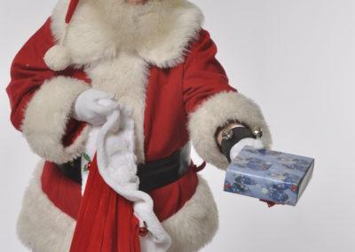 Santa Eugene for gift deliveries