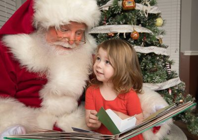 Santa George C great with storytelling