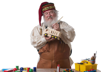 Santa John - creative and crafty Santa for hire