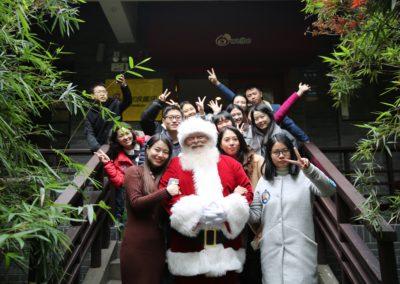 Santa Kelly - terrific Santa who travels to China