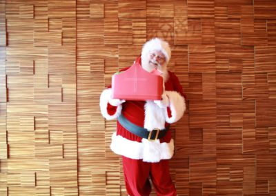 Santa Kelly Dallas Real Beard Santa for hire