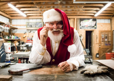 Santa Mike - modern Santa costume