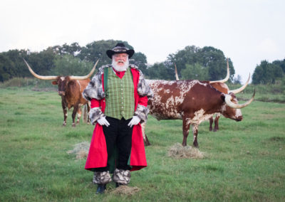 Santa Mike in unique Santa Costume