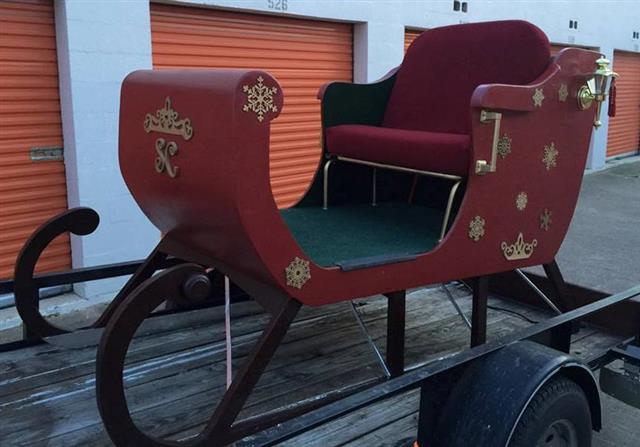 magical Santa Sleigh for rent in Dallas-Fort Worth