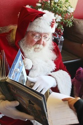 Santa Tom and your favorite storybooks