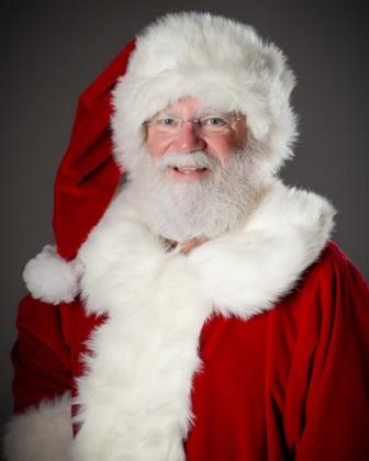authentic bearded Santa Claus in Texas