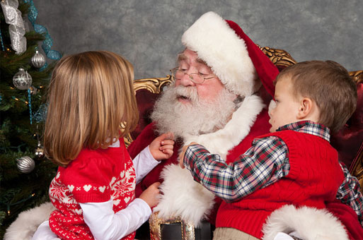 Santa Claus, Real Beard, Real Bearded, Dallas, Fort Worth