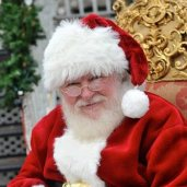 Santa Al Real Beard Santa Claus in Dallas
