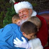 Santa David Dallas Real Beard Santa