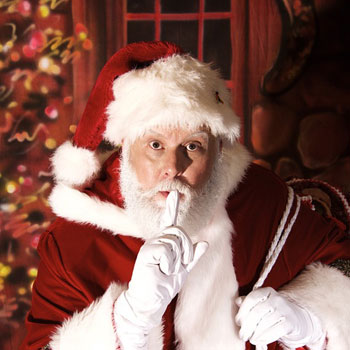 Santa James - amazing naturally bearded Santa actor
