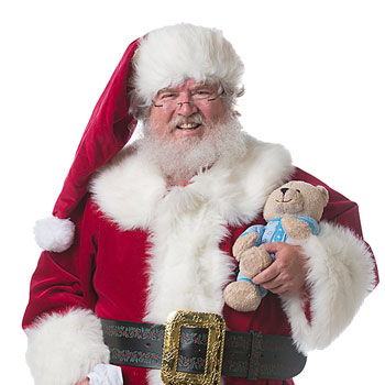 Santa john - Dallas Real Beard Santa