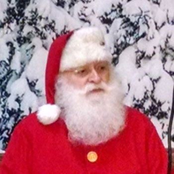 Santa Jim - Dallas Real Beard Santa