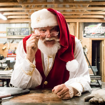 Santa Mike - Dallas Real Beard Santa Claus for hire