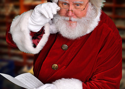 realistic Santa entertainer