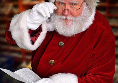realistic Santa entertainer