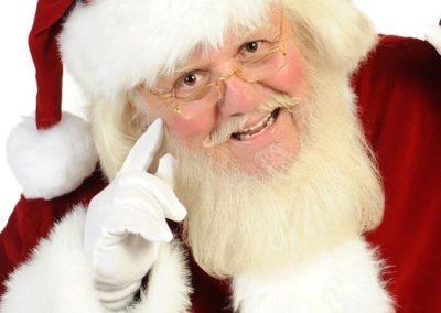 jolly Santa Claus entertainer