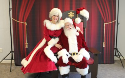 Santa Chair and Backdrop for Rent
