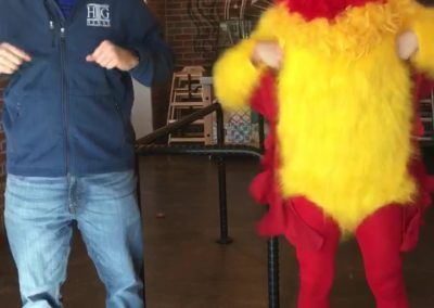 Funny Chicken Singing Telegram DFW